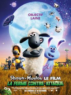Affiche de Shaun le Mouton Le Film : La Ferme Contre-Attaque